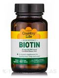 High Potency Biotin 10 mg 60 Vegetarian Capsules