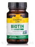 High Potency Biotin 5 mg 60 Vegetarian Capsules