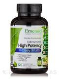High Potency 4-Daily Multi - 120 Vegetable Capsules