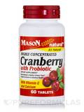 Highly Concentrated Cranberry with Probiotic - 60 Tablets
