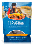 Hip Action with Glucosamine & Chondroitin Dog Treats Chicken - 1 lb (454 Grams)