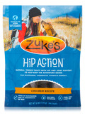 Hip Action with Glucosamine & Chondroitin Dog Treats Chicken - 6 oz (170 Grams)