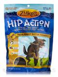 Hip Action with Glucosamine & Chondroitin Dog Treats Peanut Butter - 1 lb (454 Grams)