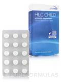 HLC Child, Natural Blackcurrant Flavor - 30 Chewable Tablets