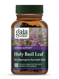 Holy Basil Leaf - 60 Vegetarian Liquid Phyto-Caps