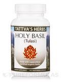 Holy Basil - Tulasi Organic - 120 Vegetarian Capsules