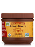 NOW Real Food® - Cocoa Lovers™ Slender Hot Cocoa - 10 oz (284 Grams)