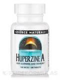 Huperzine A 100 mcg - 60 Tablets