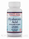 Hyaluronic Acid 100 mg with Co-factors 60 Vegetarian Capsules