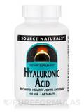 Hyaluronic Acid 100 mg 60 Tablets