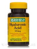 Hyaluronic Acid 50 mg 30 Capsules