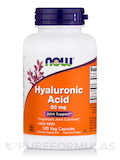 Hyaluronic Acid with MSM 120 Vegetarian Capsules