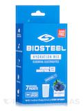 Hydration Mix Powder, Blue Raspberry Flavor - 1 Box of 7 Individual Packets (1.7 oz / 49 Grams)
