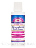 Hydrogen Peroxide Tooth Powder, Natural Mint - 4 oz (111 Grams)