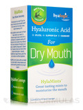 HylaMints for Dry Mouth (Hyaluronic Acid for Dry Mouth), Mint Flavor - 60 Lozenges