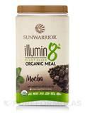 illumin8 Plant-Based Organic Meal, Mocha Flavor - 35.2 oz (2.2 lb / 1 kg)