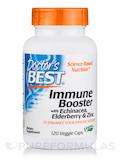Immune Booster with Echinacea, Elderberry & Zinc - 120 Veggie Capsules