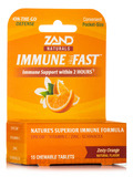 Immune Fast, Zesty Orange Natural Flavor - 15 Chewable Tablets