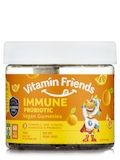 Vegan Immune Probiotic Gummies for Kids, Orange Flavor - 60 Gummies