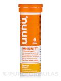 Immunity - Effervescent Immunity Supplement, Orange Citrus Flavor - 1 Tube of 10 Tablets