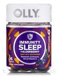 Immunity Sleep + Elderberry Gummies, Midnight Berry Flavor - 36 Gummies
