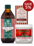 Indian Healing Clay Mask Kit - Save 5% on a bundle