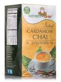 Instant Cardamom Chai Powder, Sweetened - 10 Packets (8.82 oz / 250 Grams)