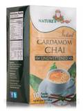 Instant Cardamom Chai Powder, Unsweetened - 10 Packets (5.64 oz / 160 Grams)
