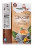 Instant Ginger Chai Powder, Sweetened - 10 Packets (8.82 oz / 250 Grams)