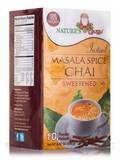 Instant Masala Chai Powder, Sweetened - 10 Packets (8.82 oz / 250 Grams)