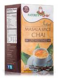 Instant Masala Chai Powder, Unsweetened - 10 Packets (5.64 oz / 160 Grams)
