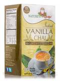 Instant Vanilla Chai Powder, Unsweetened - 10 Packets (5.64 oz / 160 Grams)
