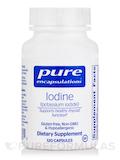 Iodine (Potassium Iodide) - 120 Capsules