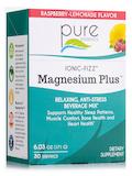 Ionic-Fizz™ Magnesium Plus™, Raspberry-Lemonade Flavor - Box of 30 Stick Packs (6.03 oz / 171 Grams)