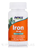 Iron 18 mg - 120 Vegetarian Capsules