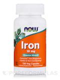 Iron 18 mg - 120 Vegetarian Capsules