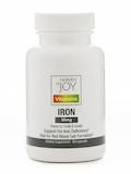 Iron 36 mg - 60 Capsules