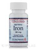 Iron 36 mg - 90 Vegetarian Capsules