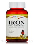 Vegan Iron Gummies for Adults, Natural Berry Flavor - 60 Gummies