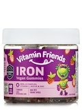 Iron Gummies for Kids, Strawberry Flavor - 60 Gummies