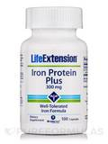 Iron Protein Plus 300 mg - 100 Capsules