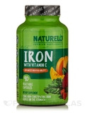 Iron with Vitamin C - 90 Vegetable Capsules