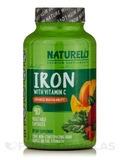 Iron with Vitamin C - 90 Vegetable Capsules