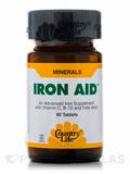 Iron-Aid 15 mg 60 Tablets