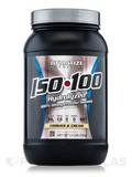 ISO-100 Hydrolyzed 100% Whey Protein Isolate, Cookies & Cream - 1.6 lbs (726 Grams)