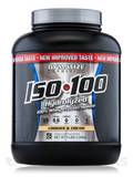 ISO-100 Hydrolyzed 100% Whey Protein Isolate, Gourmet Cookies & Cream - 3 lbs (1,346 Grams)