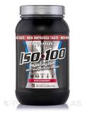 ISO-100 Hydrolyzed 100% Whey Protein Isolate, Gourmet Strawberry - 1.6 lbs (733 Grams)