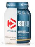 ISO-100® Hydrolyzed 100% Whey Protein Isolate, Gourmet Vanilla Flavor - 1.6 lbs (725 Grams)
