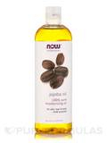 NOW® Solutions - Jojoba Oil (100 % Pure) - 16 fl. oz (473 ml)