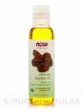 NOW® Solutions - Organic Jojoba Oil - 4 fl. oz (118 ml)